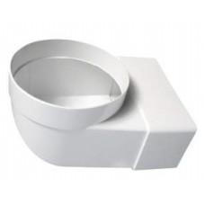 Līkums ar diametru plastmasas 110x55 / Ø 100 - 90°