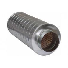 Apaļš trokšņu slāpētājs 100(h=50)-600mm