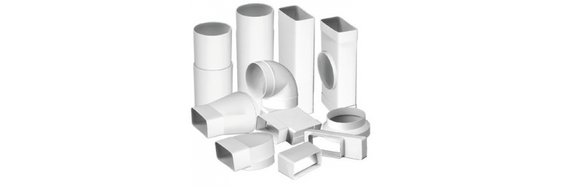 Plastic rectangular and round system